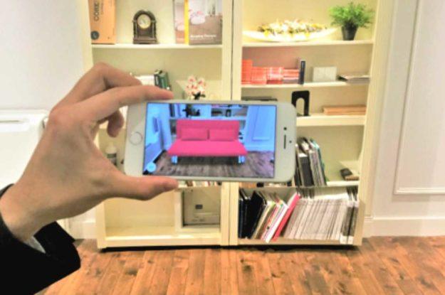 「IKEAでAR?!自宅で家具が選べる~携帯アプリ活用術~」